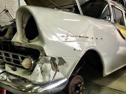 FB Holden damaged guard