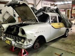 FB Wagon dissassembled for repair