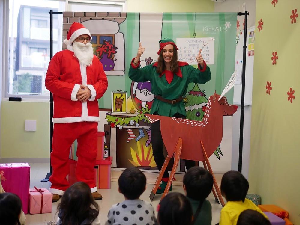 クリスマス演劇 英語イベント