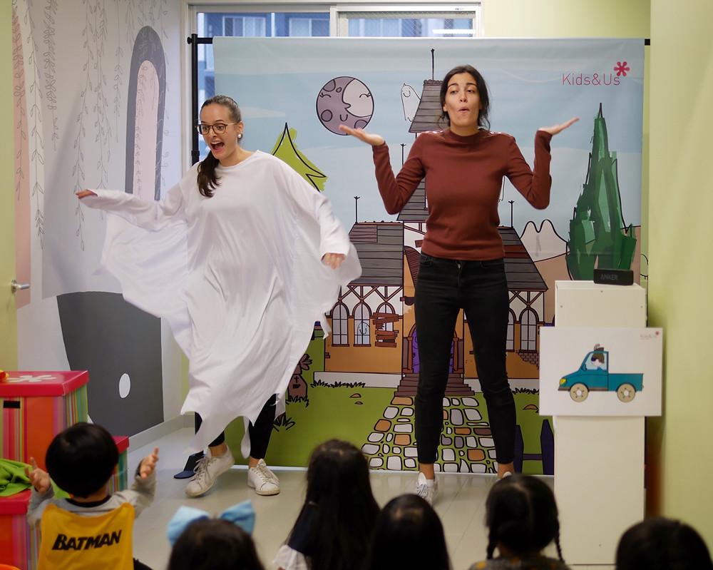 Kids&Usのハロウィン英語演劇