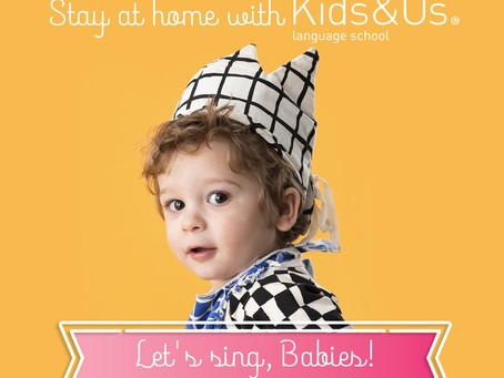 1-2歳向け「お家で楽しく英語に触れよう!Stay at home with Kids&Us」