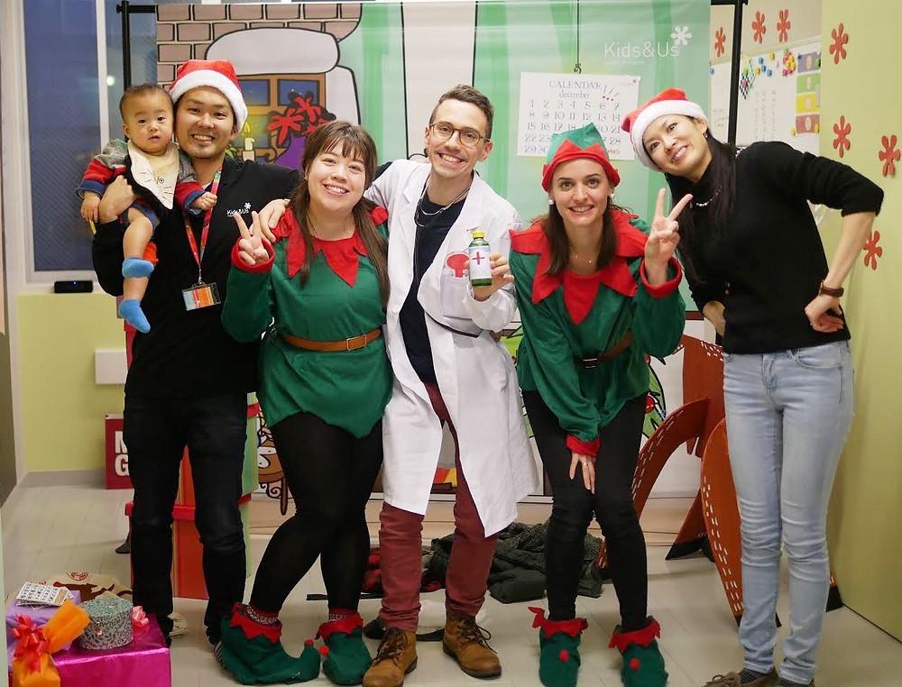 Kids&Us クリスマス 英語イベント