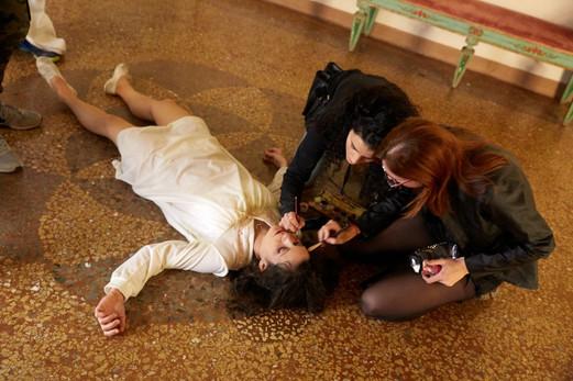 Make Up on Set, Resta Qui, short movie d