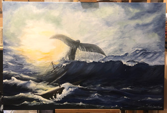 Moby Dick_canvas painting.JPG