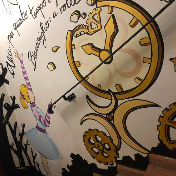 Sottosopra Pavullo(MO) Wall Painting Ali
