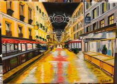 Rue Cler Paris_canvas painting.JPG