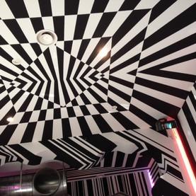 dipinto su muri discoteca La Buca3.JPG