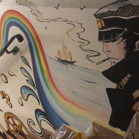 Sottosopra Pavullo(MO) Wall Painting Cor