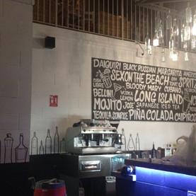 Open Pub Pavullo(MO) pannello e muro coc