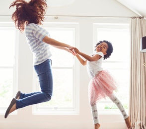 Mommy and me dance