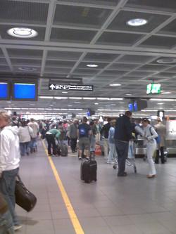 Heathrow Airport.