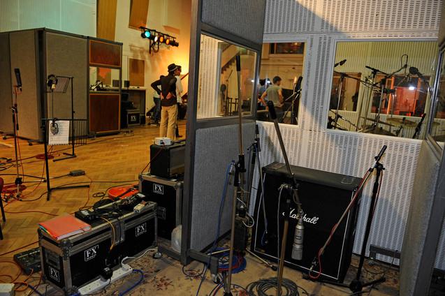 Guitar-Recordings Abbey Road Studios London.