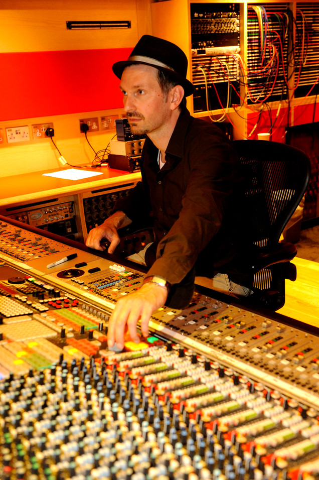 Mixing Abbey Road Studios.