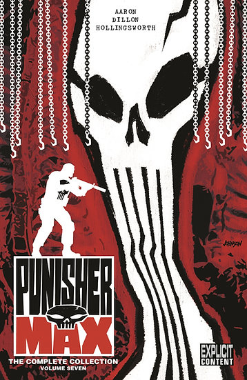 PUNISHER MAX: THE COMPLETE COLLECTION (signed by Jason Aaron)