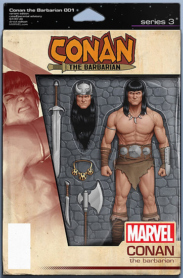 CONAN THE BARBARIAN #1 Action Figure Variant