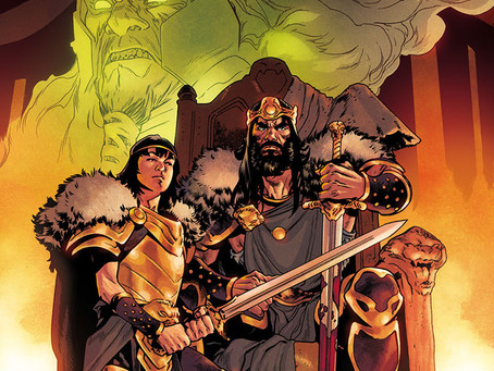 KING CONAN Is Coming