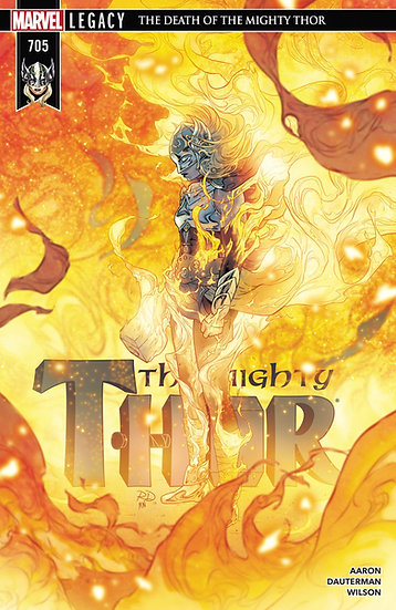 THE MIGHTY THOR #705 First Printing, Jane Foster Thor (signed by Jason Aaron)
