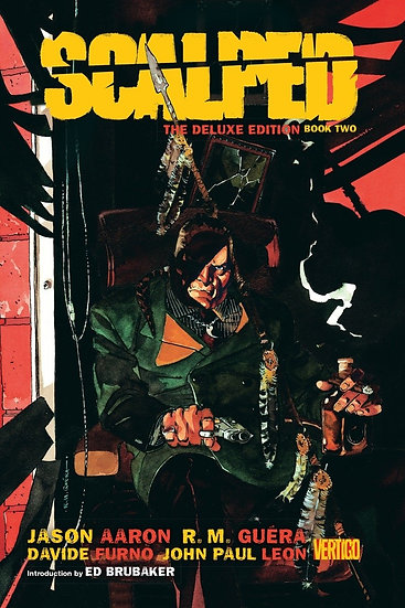 SCALPED Book Two Deluxe Edition Hardcover (signed by Jason Aaron)