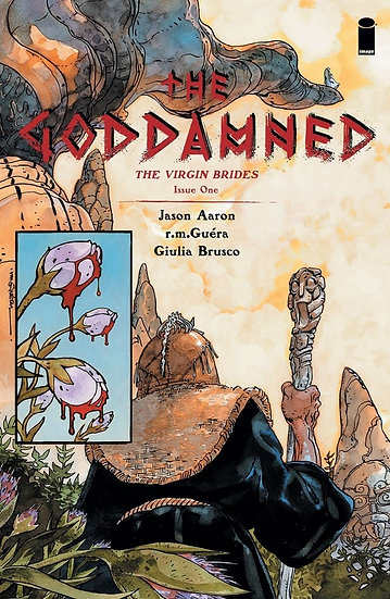 THE GODDAMNED: THE VIRGIN BRIDES #1 (signed by Jason Aaron)