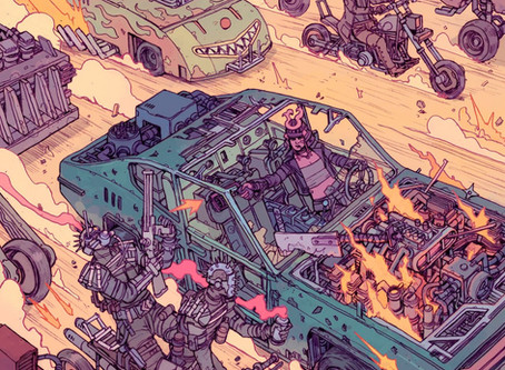 SOUND AND FURY is coming this November to blow out your eyeballs with awesome