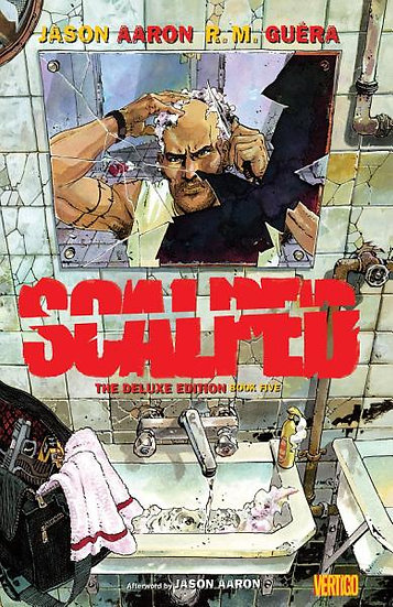 SCALPED Book Five Deluxe Edition Hardcover (signed by Jason Aaron)