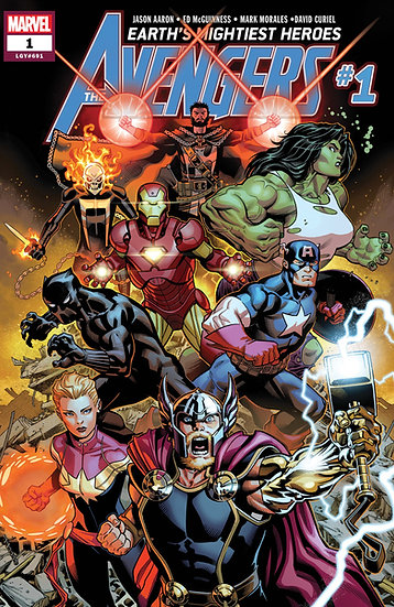 AVENGERS #1 First Printing (signed by Jason Aaron)