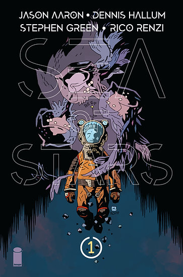 SEA OF STARS #1 First Printing, Mike Mignola variant (signed by Jason Aaron)
