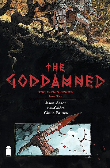 THE GODDAMNED: THE VIRGIN BRIDES #2 (signed by Jason Aaron)