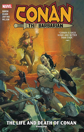 CONAN THE BARBARIAN Vol. 1 Trade Paperback (signed by Jason Aaron)