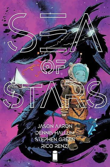 SEA OF STARS #1 First Printing (signed by Jason Aaron)