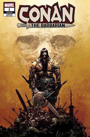 CONAN THE BARBARIAN #1 Zaffino variant