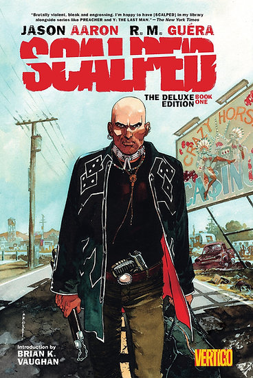 SCALPED Deluxe Edition Hardcovers