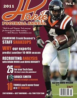 The second Hokie Football Annual.
