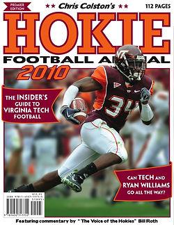 The first Hokie Football Annual.