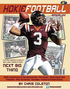The third Hokie Football Annual.