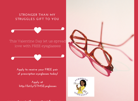 We're Spreading Love Through the Gift of Vision this Valentine Day.