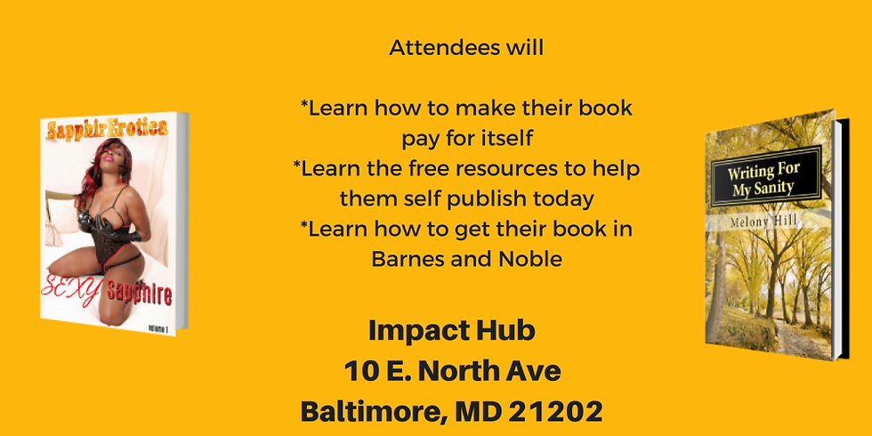 Publish A  Book On Any Budget Workshop