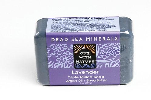 Lavender Shea/Argan Soap - 7 oz.