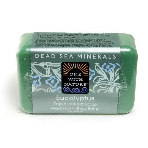 Eucalyptus Shea/Argan soap - 7 oz.