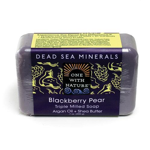 Blackberry Pear Shea/Argan soap - 7 oz.