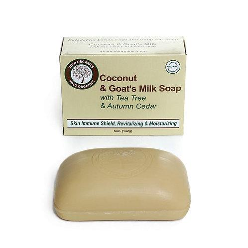 Virgin Coconut & Goat's Milk Soap - 5 oz.