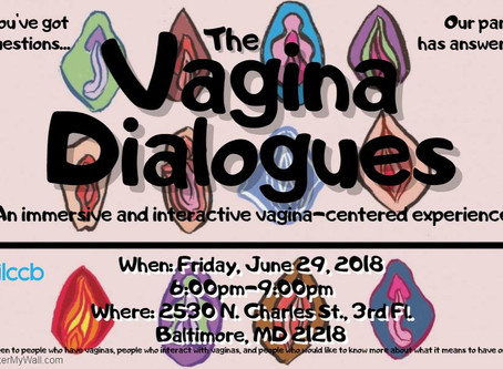 Talking Twat with the GLCCB for the Vagina Dialouges