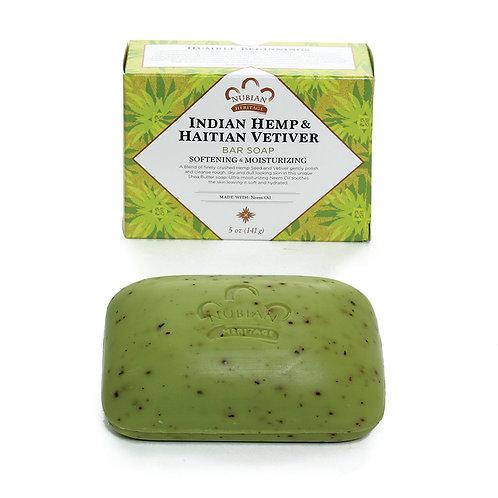 Indian Hemp & Haiti Vetiver Soap - 5 oz.