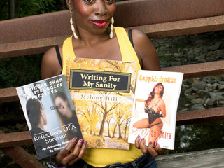 Melony Interviewed About Book Publishing, Workshops & Her journey as an Author (Video Inside)