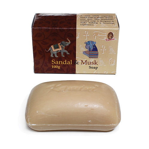 Sandal & Musk Soap - 3 1/2 oz.