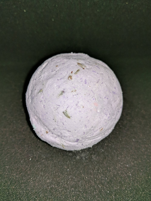 Lavender Oil Bath Bomb