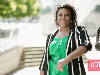"""Sheron Burks Epitomized """"The Strength of a Woman"""" by Getting Back Up When the World Crashe"""