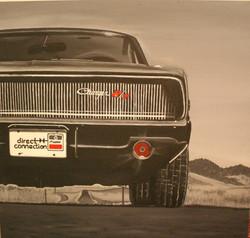 "Car Commission 24"" x 24"" Acrylic"