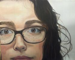 "Self Portrait 18"" x 24"" Oils"