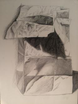 """Paper Bag 1 18"""" x 24"""" Pencil"""